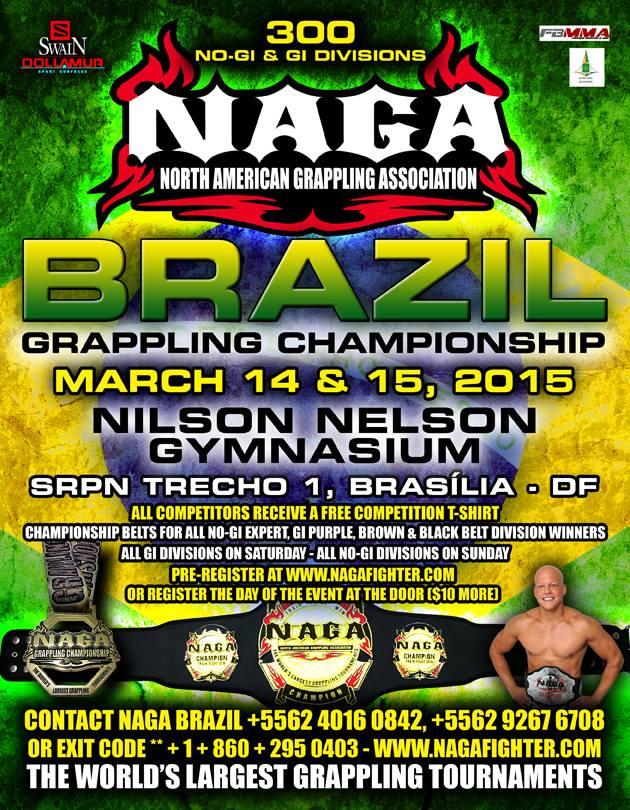 NAGA – North America Grappling Association – Brazil Championship